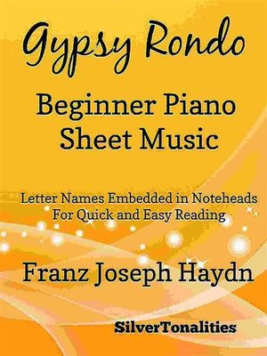 cover image of Gyspy Rondo Beginner Piano Sheet Music