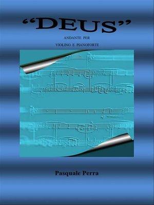 """cover image of """"Deus"""" andante per violino e pianoforte"""