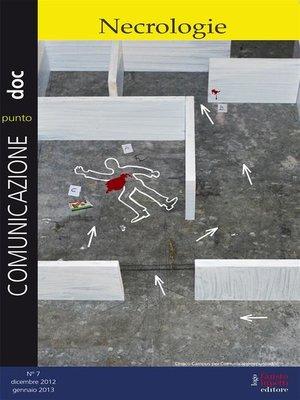 cover image of Comunicazionepuntodoc numero 7.