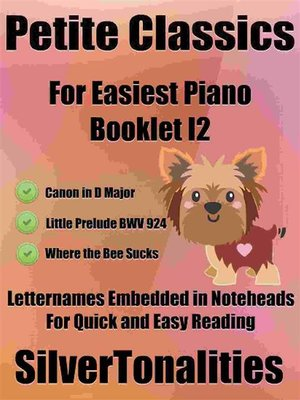 cover image of Petite Classics for Easiest Piano Booklet I2