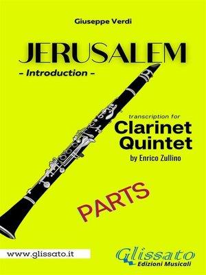 cover image of Jerusalem--Clarinet Quintet/Ensemble (parts)