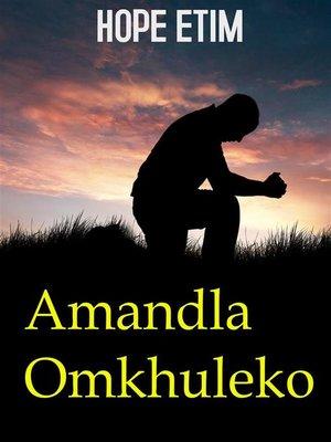 cover image of Amandla Omkhuleko