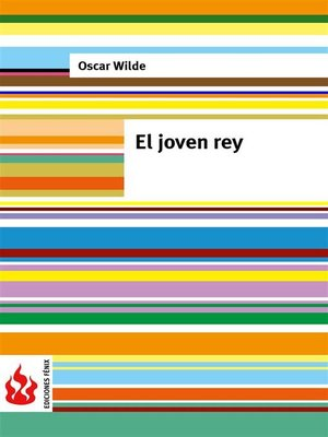 cover image of El joven rey (una casa de granadas). Low cost, edición limitada
