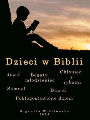 cover image of Dzieci w Biblii