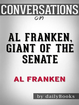 cover image of Al Franken, Giant of the Senate--by Al Franken
