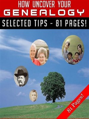 cover image of How to Uncover Your Genealogy