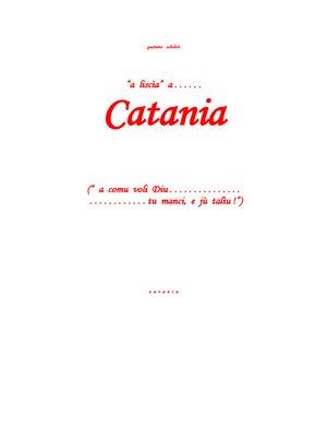 """cover image of """"A liscìa"""" a... Catania"""