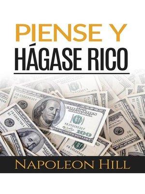 cover image of Piense y hágase rico (Traducción--David De Angelis)
