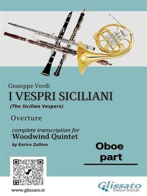 "cover image of Oboe part of ""I Vespri Siciliani""--Woodwind Quintet"
