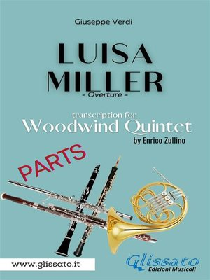 cover image of Luisa Miller--Woodwind Quintet (Parts)