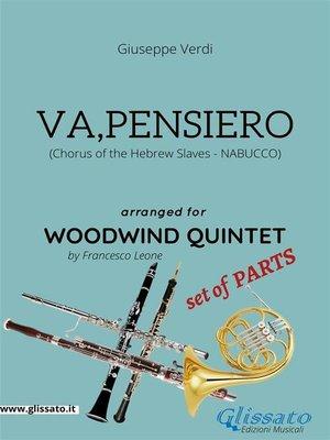 cover image of Va, pensiero--Woodwind Quintet set of PARTS