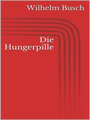 cover image of Die Hungerpille