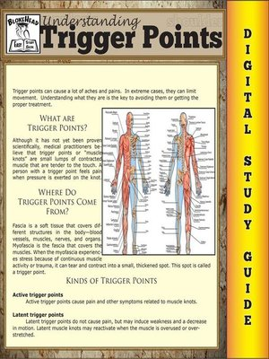 cover image of Trigger Points (Blokehead Easy Study Guide)