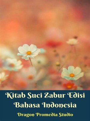 cover image of Kitab Suci Zabur Edisi Bahasa Indonesia