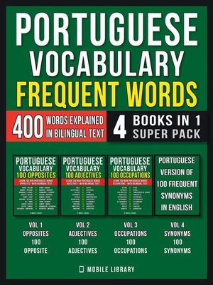 cover image of Portuguese Vocabulary--Frequent Words (4 Books in 1 Super Pack)