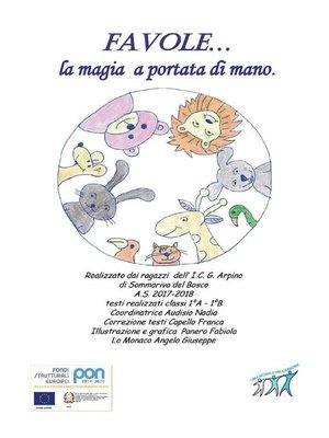 cover image of Favole... la magia a portata di mano