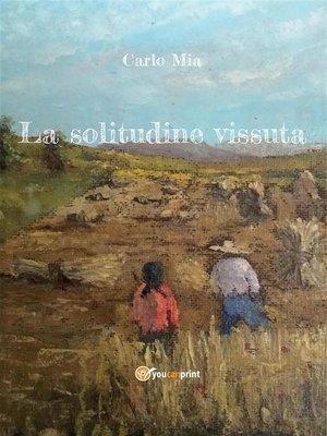 cover image of La solitudine vissuta