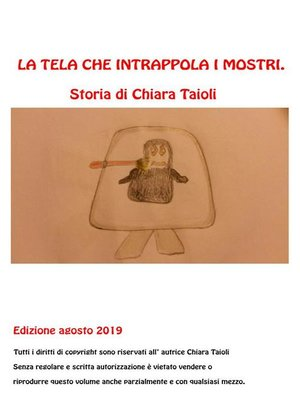 cover image of La tela che intrappola i mostri