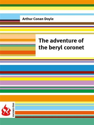 cover image of The adventure of the beryl coronet (low cost). Limited edition