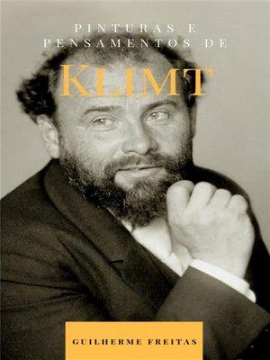 cover image of Pinturas e pensamentos de Klimt
