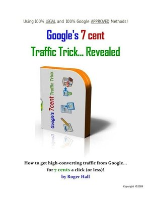 cover image of How to get google 7 cent traffic