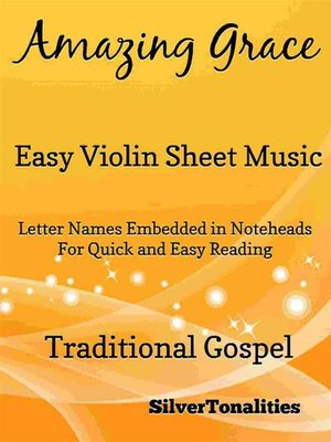 cover image of Amazing Grace Easy Violin Sheet Music