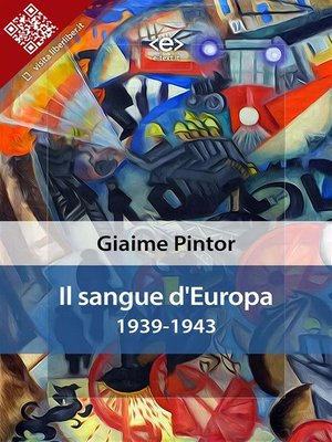 cover image of Il sangue d'Europa--1939-1943