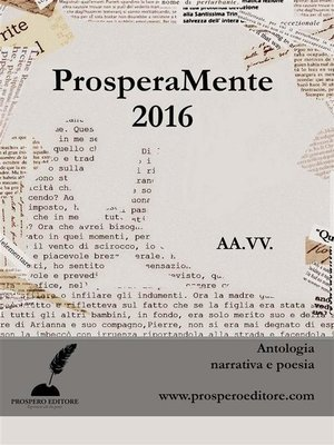 cover image of ProsperaMente 2016