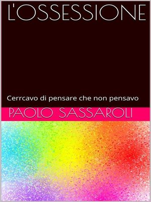 cover image of L'ossessione