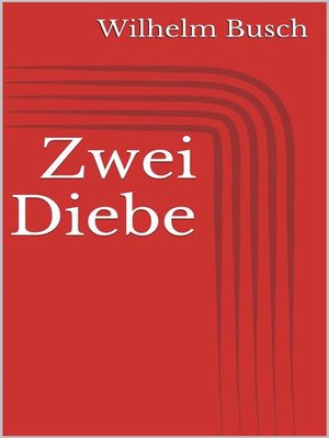 cover image of Zwei Diebe