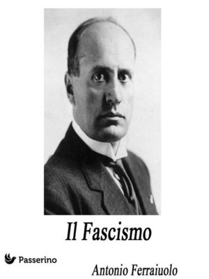 cover image of Il Fascismo
