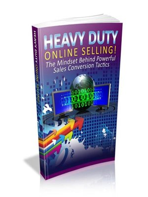 cover image of Heavy Duty Online Selling