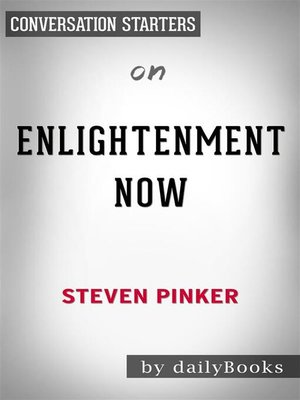 cover image of Enlightenment Now--by Steven Pinker