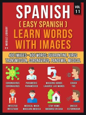 cover image of Spanish (Easy Spanish) Learn Words With Images (Vol 11)