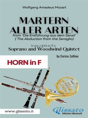 cover image of Martern aller Arten--Soprano and Woodwind Quintet (French Horn in F)