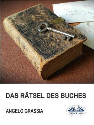 cover image of Das Rätsel Des Buches