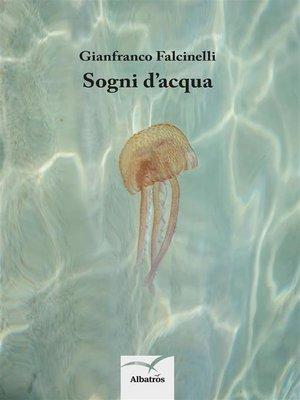 cover image of Sogni d'acqua