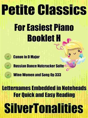 cover image of Petite Classics for Easiest Piano Booklet H