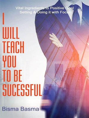cover image of I  Will Teach You to Be Successful