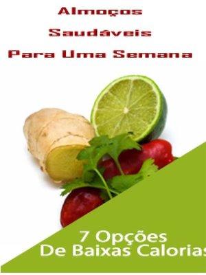 cover image of Almoços saudáveis para uma semana