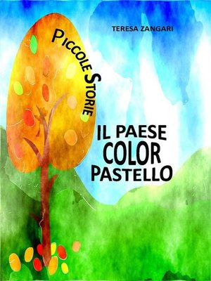 cover image of Il paese color pastello