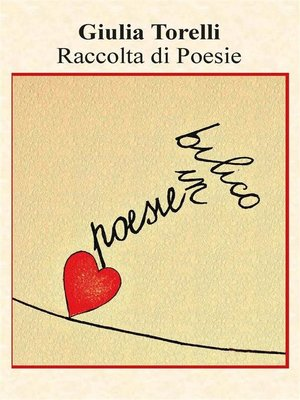cover image of Poesie in bilico