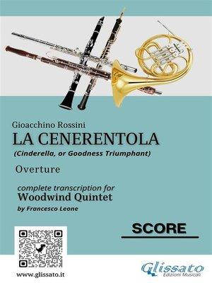 cover image of La Cenerentola (overture) Woodwind Quintet score & parts