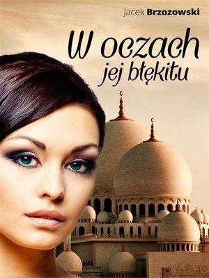 cover image of W oczach jej błękitu
