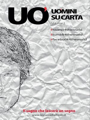 cover image of Uomini su carta Volume2
