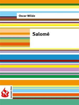 cover image of Salomé (low cost). Edición limitada