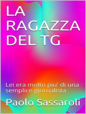 cover image of La ragazza del tg