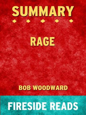 cover image of Rage by Bob Woodward--Summary by Fireside Reads