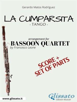 cover image of La Cumparsita--Bassoon Quartet score & parts