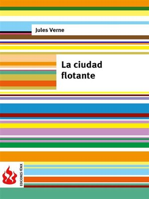 cover image of La ciudad flotante (low cost). Edición limitada